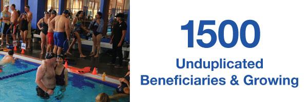 1500 UnduplicatedBeneficiaries & Growing